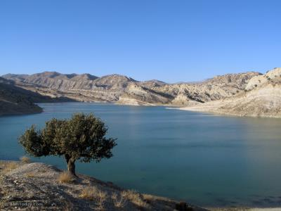 دریاچه سد ایلام