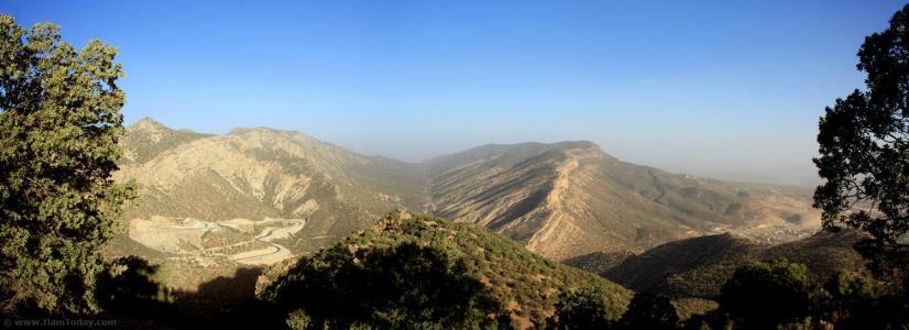 دره ارغوان؛ از نمای روبرو