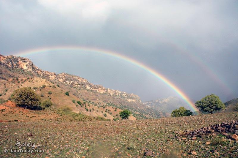 عکس کوه مانشت ایلام
